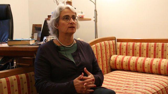 Dans une interview vidéo à l'Express, Bénédicte de Peretti, présente lors de la chute du mur de Berlin, témoigne
